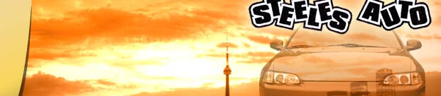 Steeles Auto - Your non-stop shop for everything, from purchasing a quality used car, name brand performance parts, to quality automotive repairs to your car.